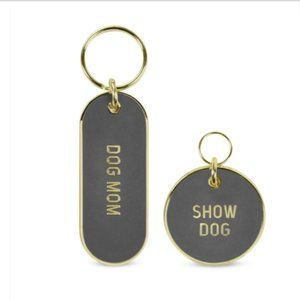 Show Dog Mom Tag & Keychain Pet Gift Set Fred NEW